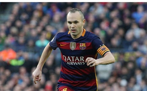 Andres Iniesta hinh anh